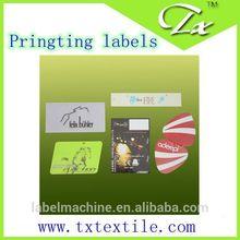 Best price high quality waterproof custom printed label,laminated bopp/PVC/PE/PP printed label for hair product