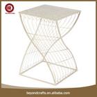 metal stool, garden stool, iron stool