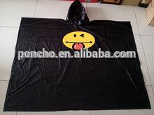 high quality reusable plastic rain poncho