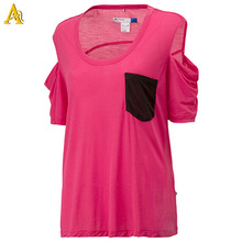 Organic Cotton t-shirt for women , pocket tee
