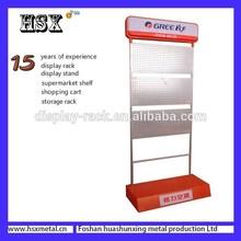 Modern Metal floor standing air condition display racks/display shelves /display stands HSX-155