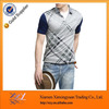 Fashion Wholesale Polo Shirts with Pattern Blank for Man