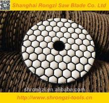 Resin bond&flexible Granite/Marble polishing pads diamond power tools