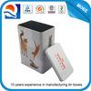 cmyk printing tin storage tins, pet food storage container
