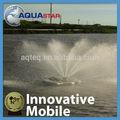 taiwán 2015 innvoative 2hp móvil de la acuicultura de estanques de peces aireador