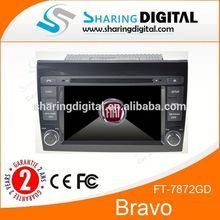 Car DVD Player Stereo GPS Navigation For Fiat Bravo Car stereo autoradio with GPS