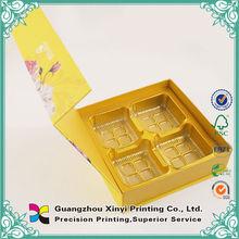 Custom chinese packaging printing mooncake box design
