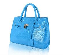 mens shoulder bag geniune leather genuine crocodile leather handbag