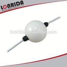 6 led 50mm adresli programlanabilir top şekli renkli disko topu ışık 12v