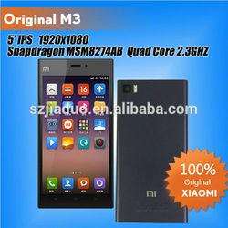 "Smartphone with 5"" Qualcomm Quad Core 1920*1080 Android4.2 2GB RAM 64GB ROM 3050mAh 13.0MP Xiaomi M3 Mi3 China Brand Smartphone"