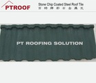 New Style corrugated Synthetic Roofing / Plastic Roof Tile / roma style roof tiles