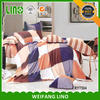 custom print bed sheet india/screen print bed sheets/patch work bed sheets