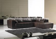 Modern Luxury Black Leather Sofa Furniture/Beautiful Simple Luxury Sofas Furnitures High Quality
