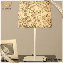 Hot Sale Modern Art Flower modern metal table lamp