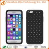 Olja full star lantern grain 2 in 1 pc silicone three protection shockproof custom gel pc phone case for iphone 6 plus