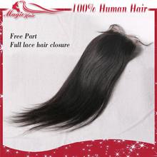 natural straight human hair not very dark color light black grey hair top closure