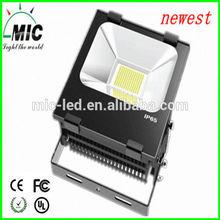 MIC high lumen 100w flood light projector easy to install