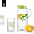 Samadoyo de vidrio transparente botella de agua/hervidor de agua/olla/jarra/cantina