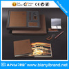 Low price notebook and pen stationery gift set with high quality