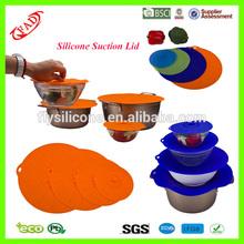 Especially Design Food Grade Flexible Silicone Suction Lid