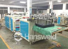 automatic Rigid PET sheet flattening and cutting machine