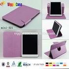 For Apple iPad Mini Retina Display PU case cover,for ipad mini leather case, for ipad mini case