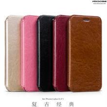 Luxury HOCO Flip Leather Case for iphone 6 plus 5.5 inch