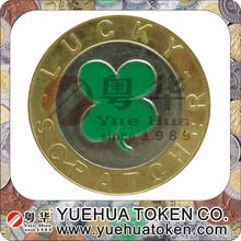 2014 Yuehua Token production gold metal souvenir coin