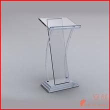 acrylic podium pulpit lectern-organic glass pulpit
