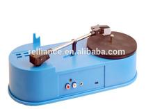 Turntable Retro USB Turntable Player Bluetooth Vinyl Record Player