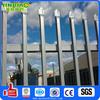 cranked spear top tubular steel fence