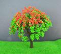 3.1inç 8cm yapay çiçek model tren n ölçek ağaçlar