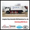 Marca China Brazo de oscilación Camión de basura Camión de la basura Hermético