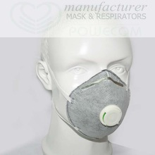 Face mask, Cup valved mask, Active carbon mask FACTORY