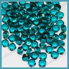 Wholesale Cushion Shape Glass Gems Rough Semi Precious Stone