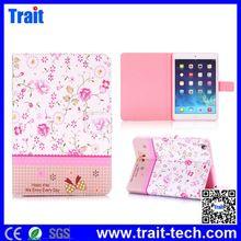 Flowers Cross Texture Diamond Crystal Magnetic Flip Stand TPU+PU Leather Case for iPad Mini 3 iPad Mini 2 Retina iPad Mini