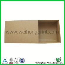 chinese kraft paper box slide open box wholesale