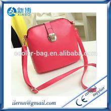 Women's leather attache case