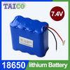 7.4v 5200mah E-tools used li-ion battery pack