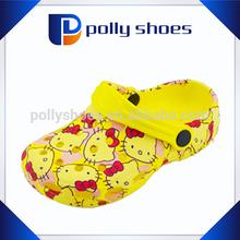 Cartoon character shoes News Garden Children's Clogs