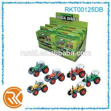 Children toy 1:72 die cast slide utility vehicle truck toys