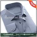 Alta qualidade de moda de algodão duplo colar mens camisas, camisa 100, roupa vestido camisas