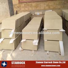 Light beige sandstone for wall