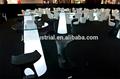 Verwendet outdoor-möbel/Ereignis und Hochzeit Tisch/weiß fiberglas tulpe tisch