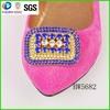 Yiwu Renqing Jewelry factory rhinestone women shoe buckle bow