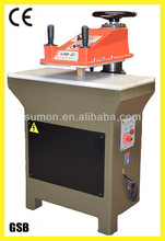 GSB - 120 serial 12T small hydraulic press for shoe cutting