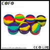 Hot sale customized small silicone jars dab wax container wax ball dab wax wax container wax holder