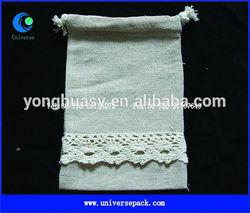 Reusable handmade linen gift bags