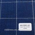 2014 a medida traje de hombre con alta calidad de lana 160 s tela código C5001-A3