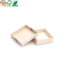 New product recycled coated paper jewelery gift box